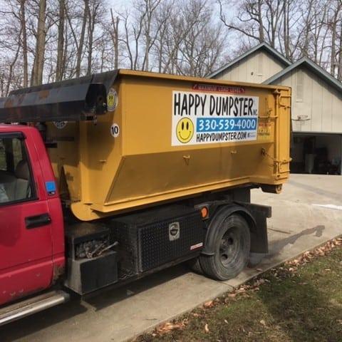 dumpster rental delivery